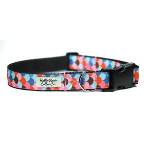 RAINBOW SCALES - Dog Collar/Leash