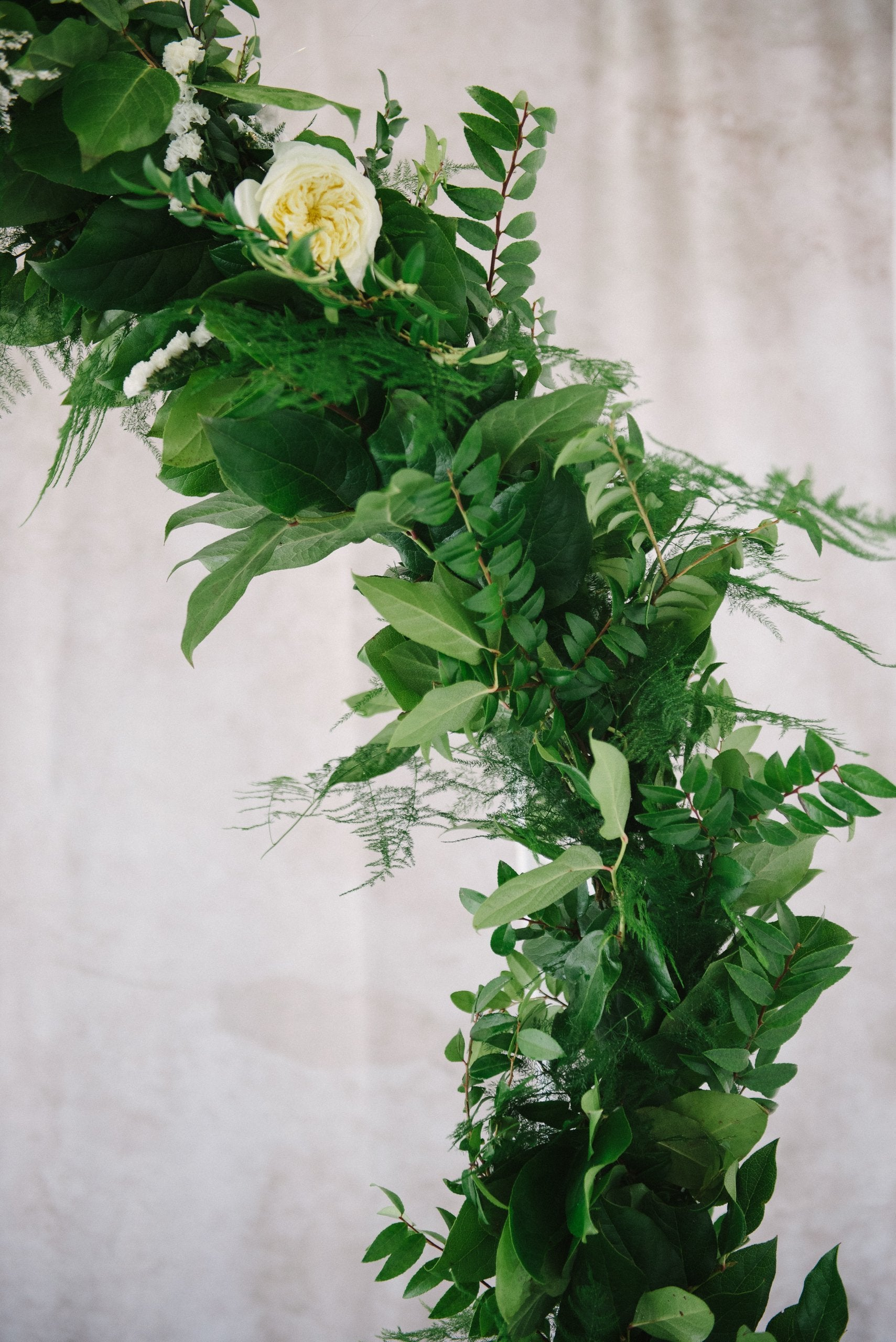 Mixed Greenery Garland (by the foot)