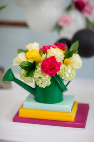 Watering Can Centerpiece
