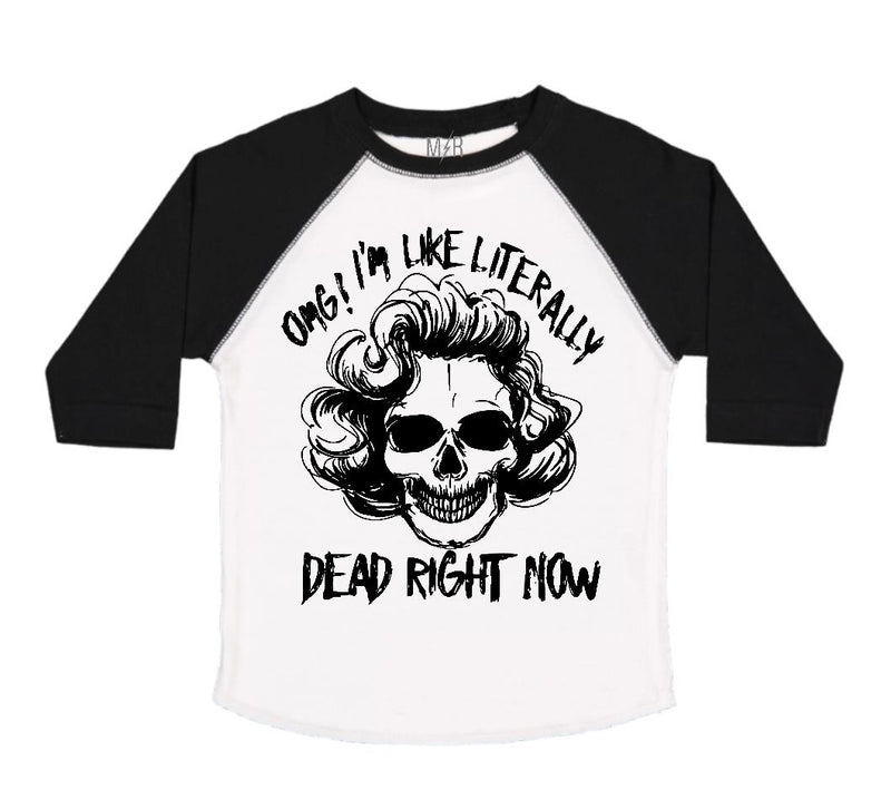 Dead right now - Marilyn Kids Tee - The Modern Rebels