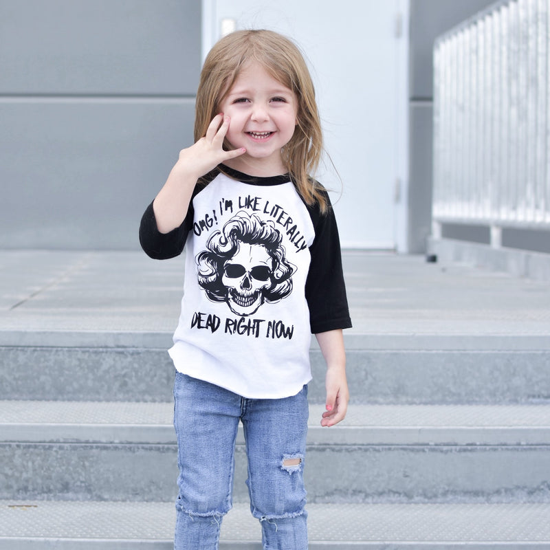 Dead right now - Marilyn Kids Tee