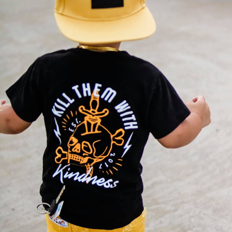 Kill them with kindness Kids Tee - The Modern Rebels