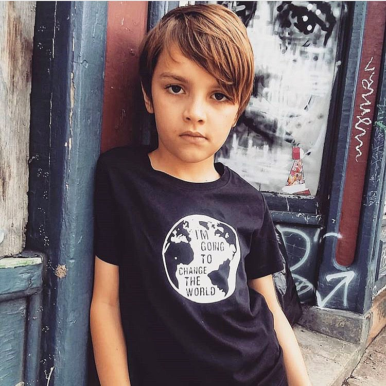 I'm going to change the world Kids/Youth Tee - The Modern Rebels