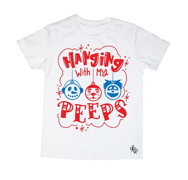 Hangin' with my peeps Kids Tee