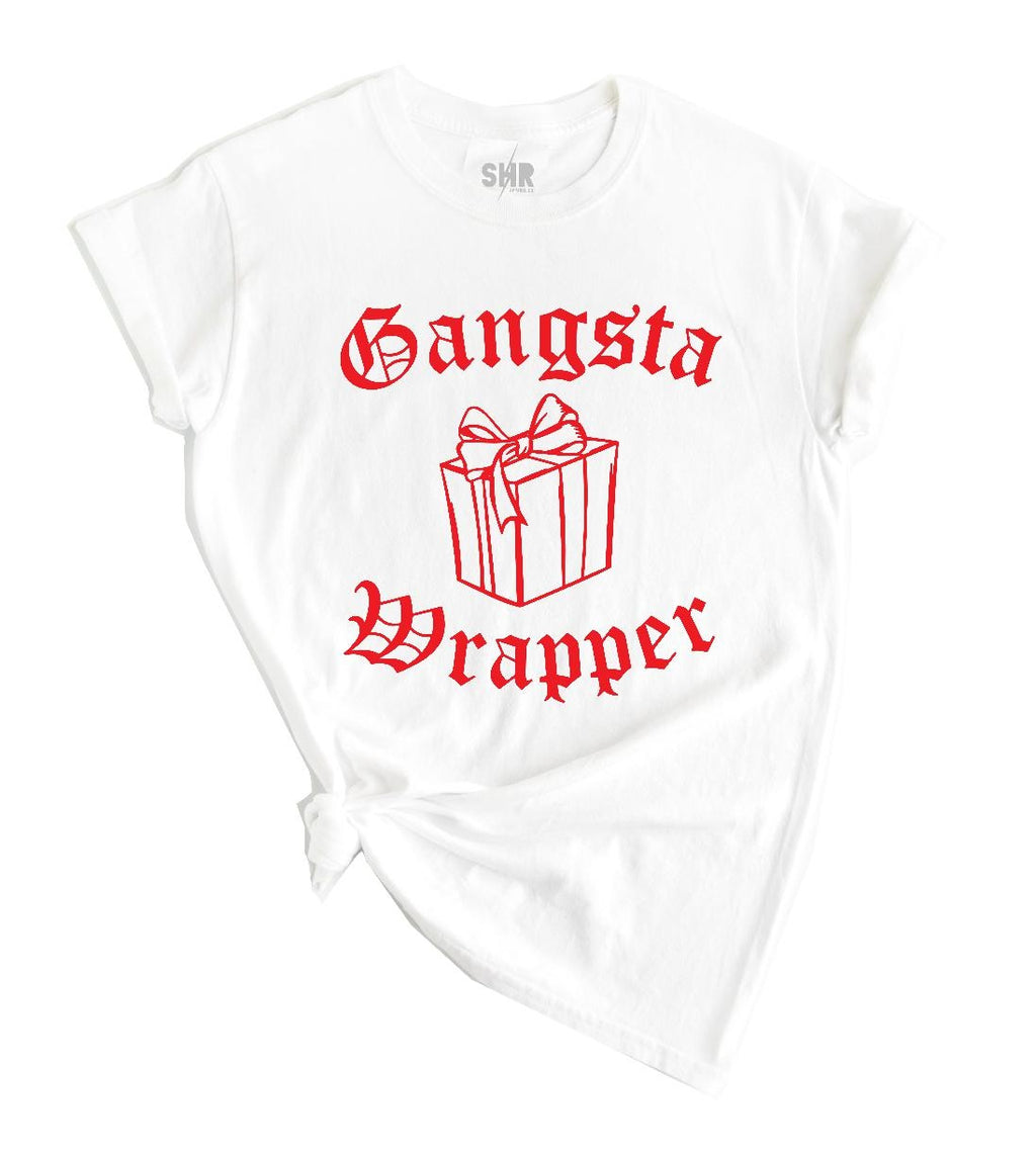 Gangsta Wrapper Unisex Tee