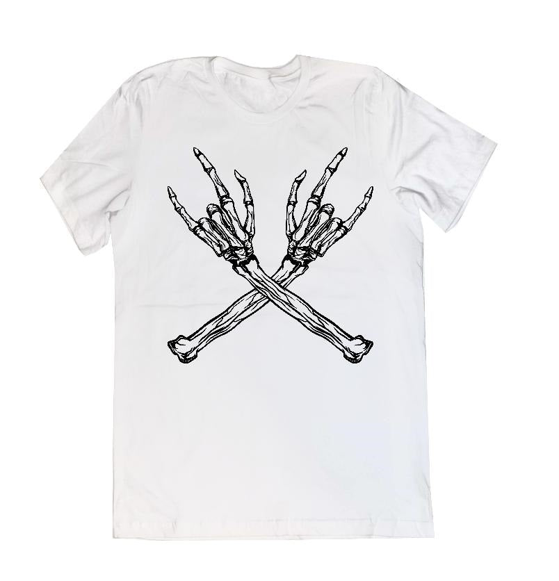 Metal Skellie Unisex Tee