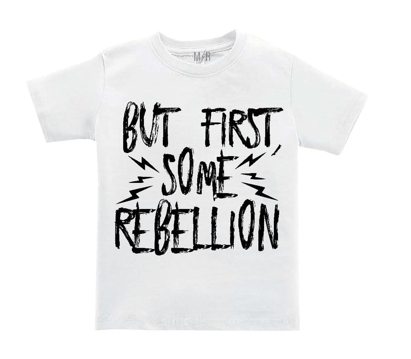 But first, some rebellion Kids Tee - The Modern Rebels
