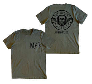 The Modern Rebels Pocket Logo Men's T-Shirt - Military
