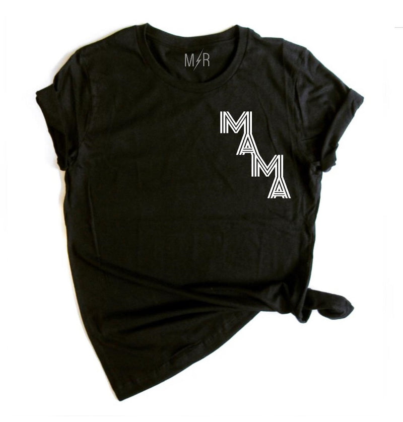"""Mama"" Unisex T-Shirt/Raglan - The Modern Rebels"