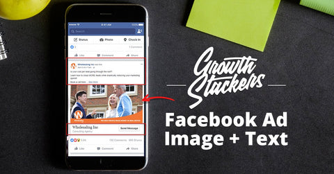 Facebook Full Ad Text & Graphic Creation