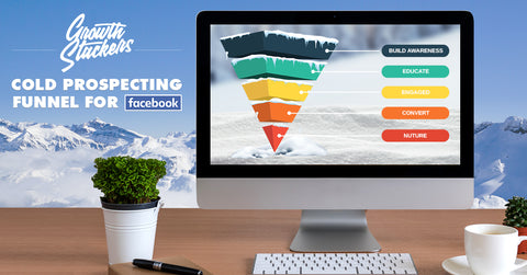 Facebook/Instagram Cold Prospecting Ad Campaign Funnel