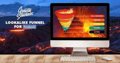 Facebook/Instagram Lookalike Ad Campaign Funnel