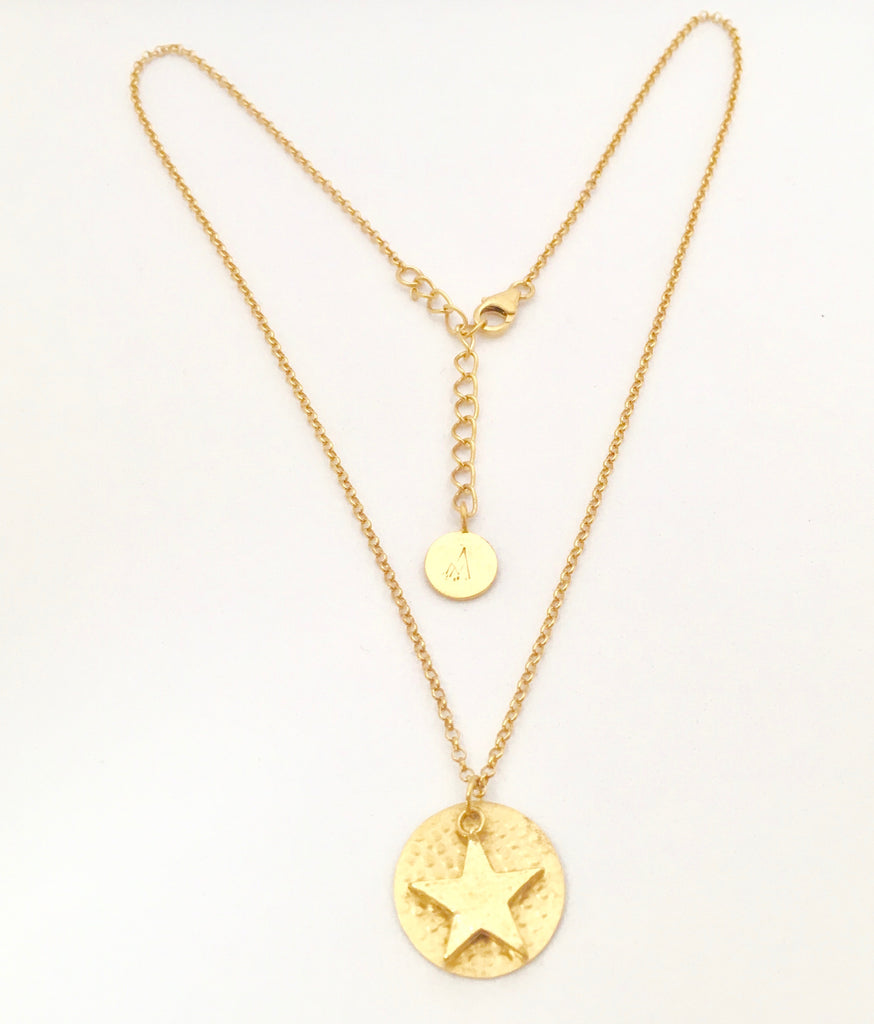 necklace shop pave star shashi starburst products
