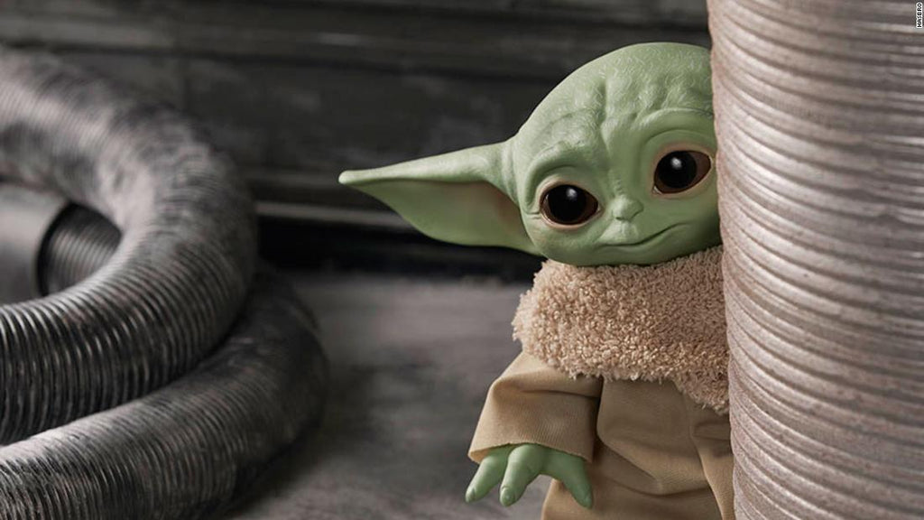 baby yoda toy review