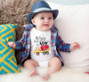 My Auntie Loves Me a Ton Onesie - Bitsy Bug Boutique