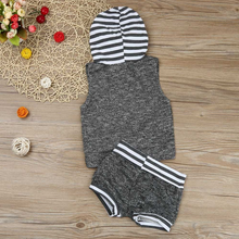 Casual Hoodie & Shorts - Bitsy Bug Boutique