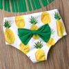 Pineapple Tassels Bikini with Headband - Bitsy Bug Boutique