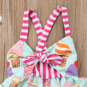 Ice Cream Dress - Bitsy Bug Boutique