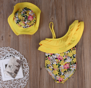 Floral Lilith Swimsuit - Bitsy Bug Boutique
