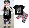 I Love Rock N' Roll Outfit - Bitsy Bug Boutique