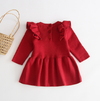 Knitted Sweater Dress (Multiple Colors) - Bitsy Bug Boutique