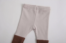 Knitted Patchwork Leggings