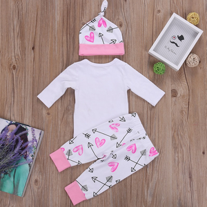 Princess Has Arrived Heart Outfit - Bitsy Bug Boutique