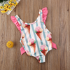 Striped Ice Cream Swimsuit