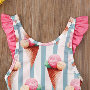 Ice Cream Sprinkled Swimsuit