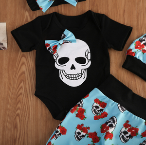 Skull Floral Outfit