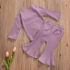 Ruffled Flare Outfit (4 Colors)