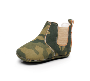 Camouflage Baby Boots (Multiple Colors)