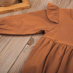 Fall Vintage Romper (2 Colors)