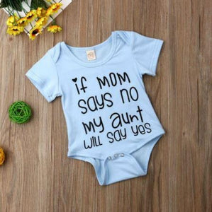 My Aunt Says Yes Onesie (2 Colors)