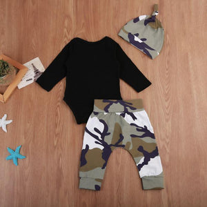 Daddy is My Hero Camouflage Outfit