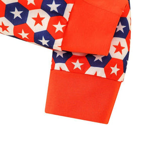 Happy Independence Day Fireworks Stars Outfit