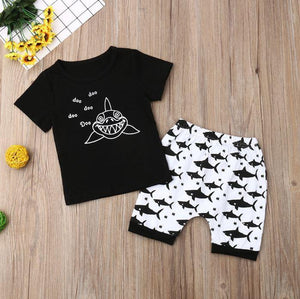Baby Shark T-shirt and Shorts
