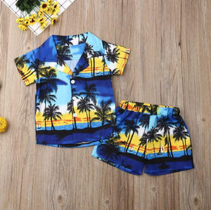 Beach Boy Palm Tree Outfit