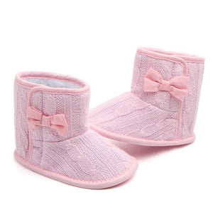 Bow-knot Knitted Boots