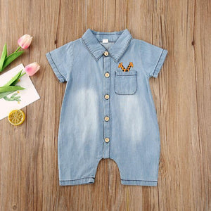 Giraffe Pocket Romper