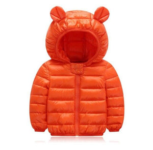 Bear Ear Bubble Coat - Bitsy Bug Boutique