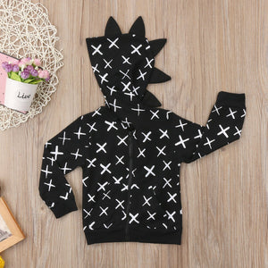 Spike Hooded Sweater - Bitsy Bug Boutique
