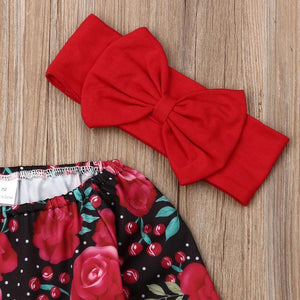 Cherry Rose Outfit Set