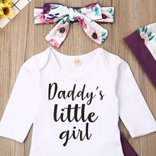 Floral Daddy's Little Girl Outfit - Bitsy Bug Boutique