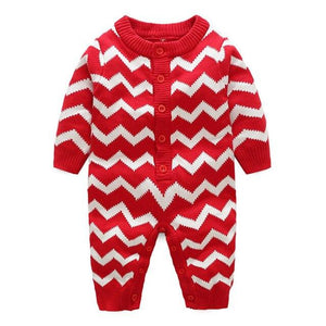 Chevron Knitted Romper (2 Colors)