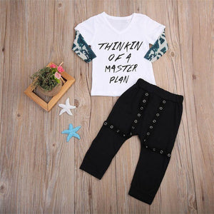 Thinkin Of a Master Plan Outfit - Bitsy Bug Boutique