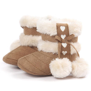 Fleece Winter Moccasins - Bitsy Bug Boutique