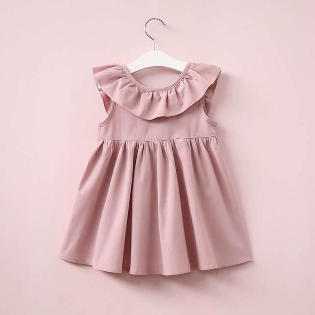 Girls Ruffle Dress - Bitsy Bug Boutique