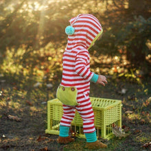 Red Striped Onesie - Bitsy Bug Boutique