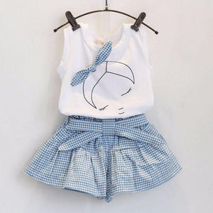 Summer Girl Set Blue / 3 Toddler